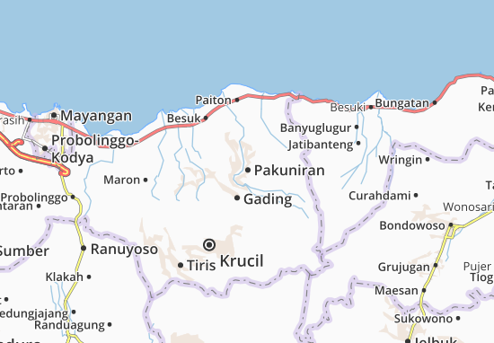 Pakuniran Map