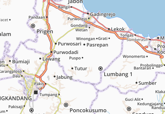 Puspo Map