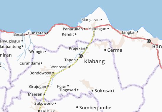 Mapas-Planos Klabang