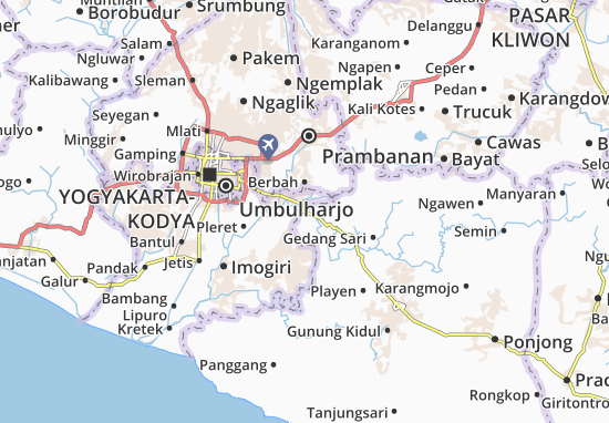 Carte-Plan Patuk