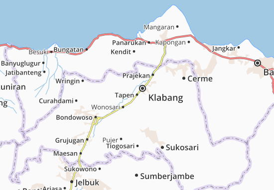 Tapen Map