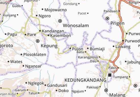 Pujon Map