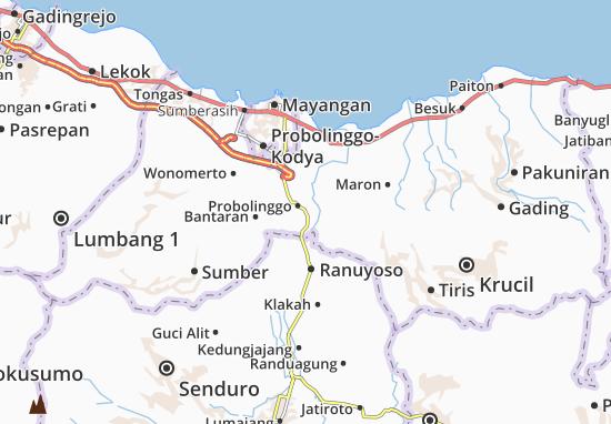 Tegal Siwalan Map