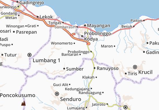 Bantaran Map