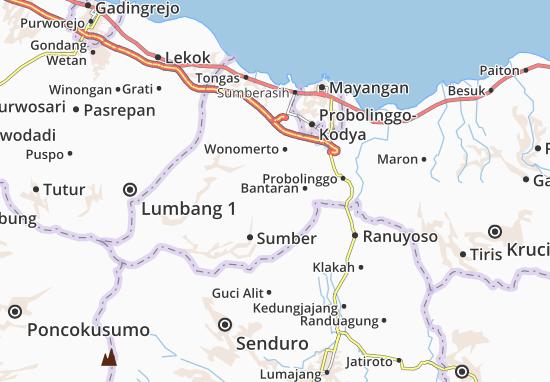 Kuripan Map