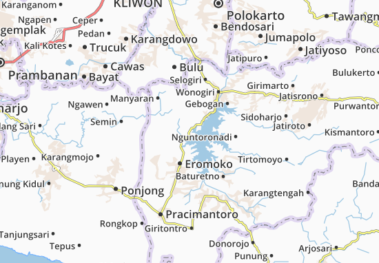 Mappe-Piantine Wuryantoro