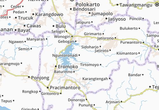 Mappe-Piantine Nguntoronadi