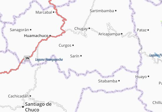 Sarín Map
