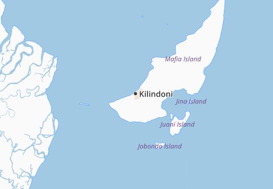 Mapa Plano Kilindoni