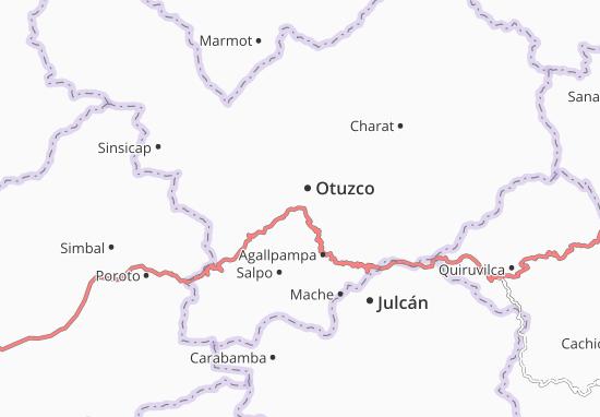 Carte-Plan Otuzco