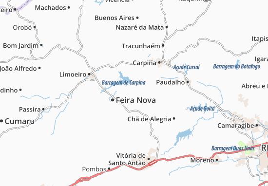 Lagoa do Itaenga Map