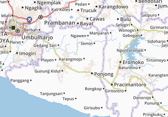 Mappe-Piantine Karangmojo