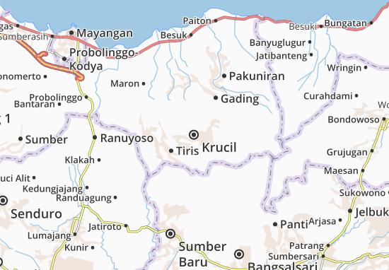 Mappe-Piantine Krucil