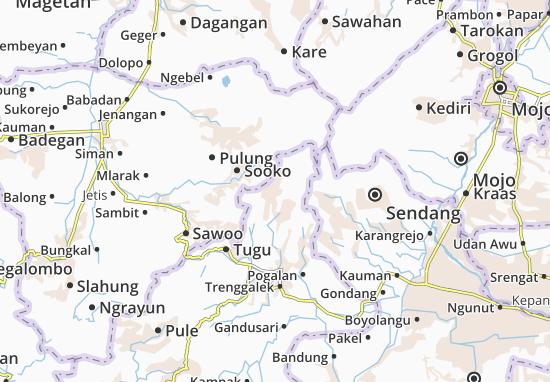 Bendungan Map