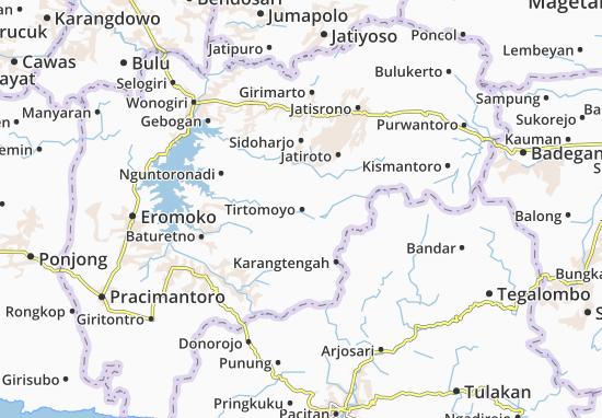 Mappe-Piantine Tirtomoyo
