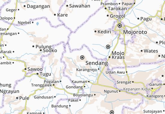 Sendang Map