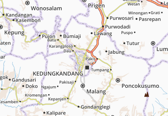 Blimbing Map