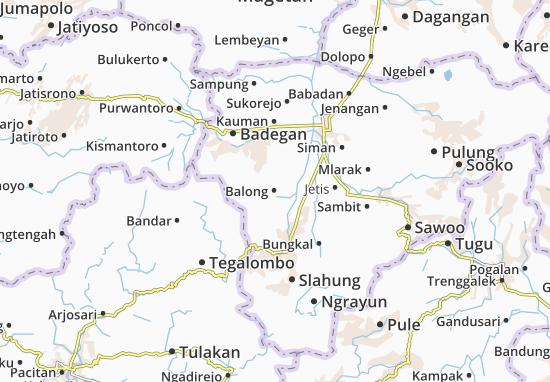 Balong Map