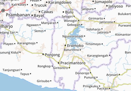 Mappe-Piantine Eromoko