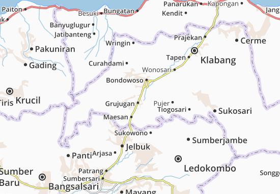 Pancoran Map