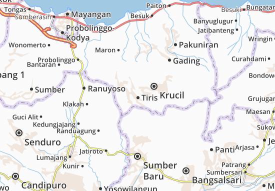 Tiris Map