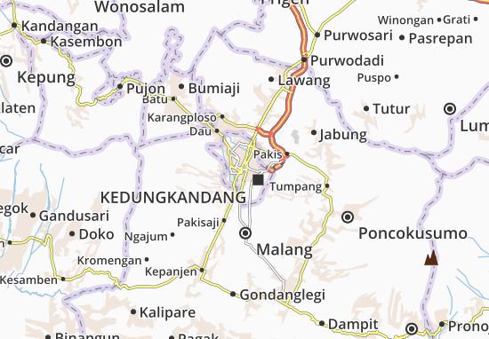 Malang Map