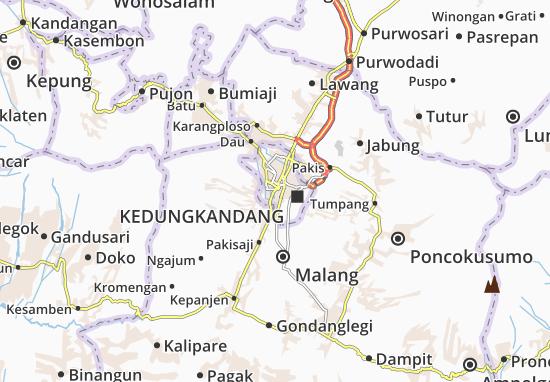 Mapa Plano Sukun