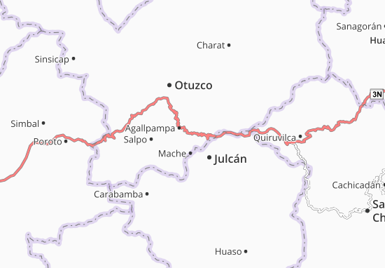 Agallpampa Map
