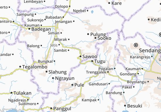 Sawoo Map