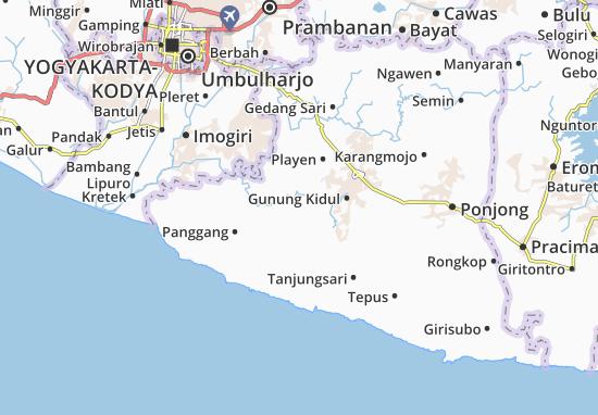 Mappe-Piantine Paliyan