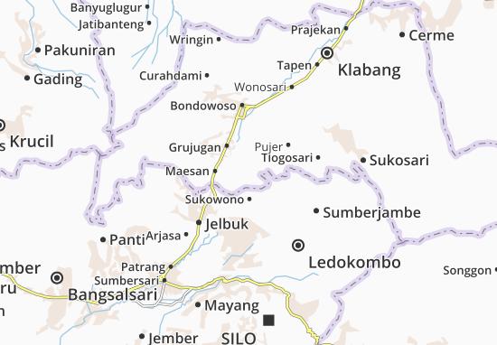 Tamanan Map