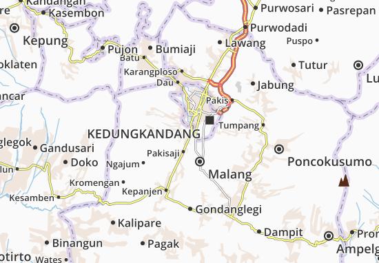 Wagir Map