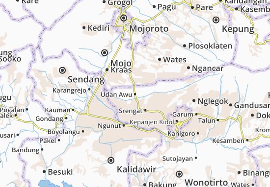 Udan Awu Map