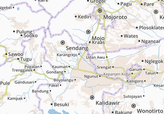 Ngantru Map