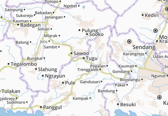 Tugu Map