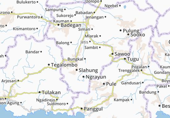 Bungkal Map