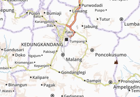 Tajinan Map