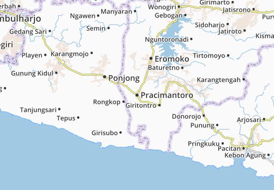 Mappe-Piantine Pracimantoro