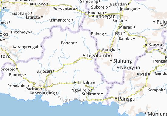 Mappe-Piantine Tegalombo