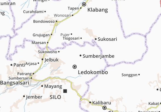 Sumberjambe Map