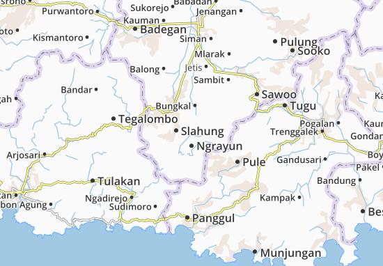 Mappe-Piantine Ngrayun