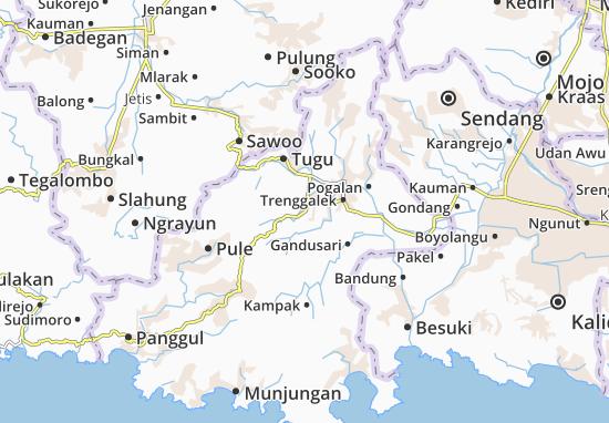 Karangan Map