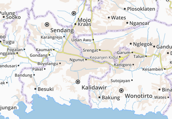 Ngunut Map