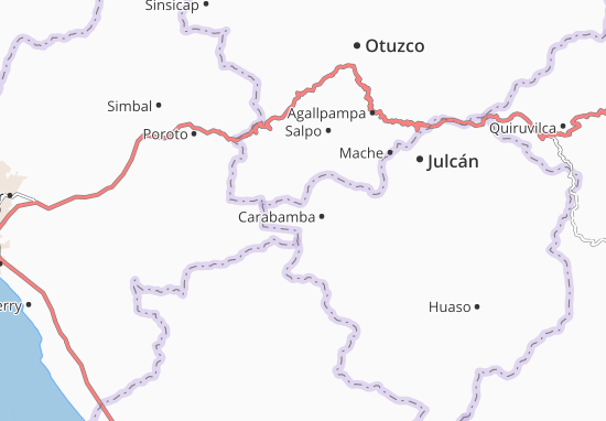 Carabamba Map