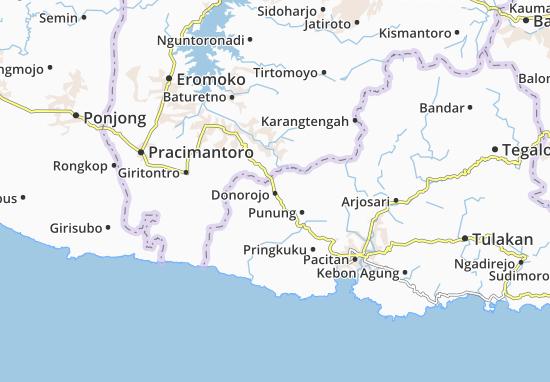 Mappe-Piantine Donorojo
