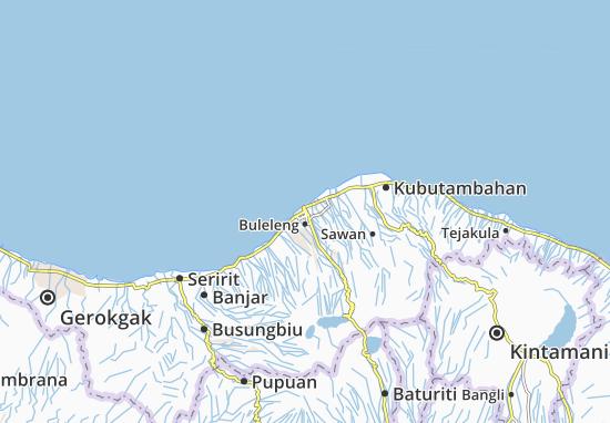 Buleleng Map