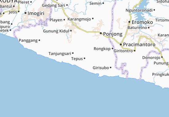 Mappe-Piantine Tepus