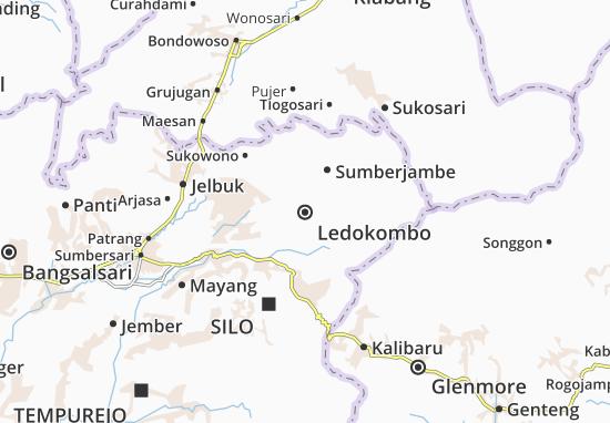 Ledokombo Map