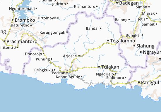 Mappe-Piantine Arjosari