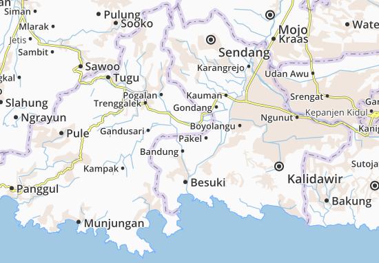 Durenan Map